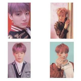 [FOUND ALL] LOVE YOURSELF ANSWER JUNGKOOK PHOTOCARDS
