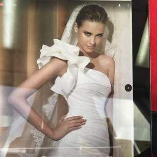 全新歐洲名牌Pronovias婚紗(靚^_^)