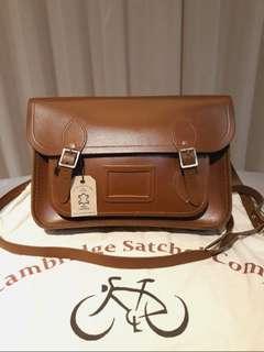 Cambridge Satchel 100% Authentic!Brown Genuine Leather