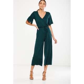 BNWT Cotton On Dark Green Jumpsuit