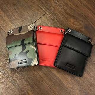 SUPREME Leather ID Wallet FW18A53