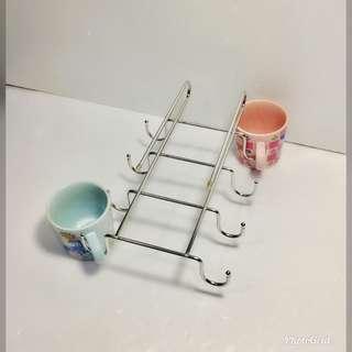 🚚 不鏽鋼 馬克杯架 展示商品便宜賣