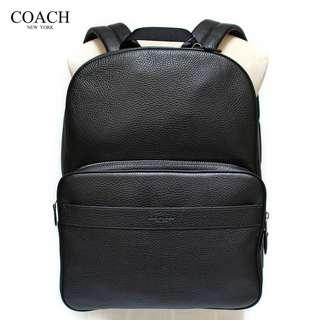 Authentic Coach F72082 Hamilton Backpack in Pebble Leather