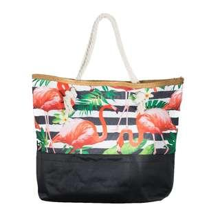 Flamingo theme beach bags / casual bags
