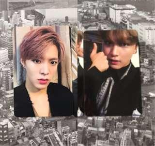 [WTT/WTS] NCT 127 Haechan Regular and Yuta Irregular Photocards