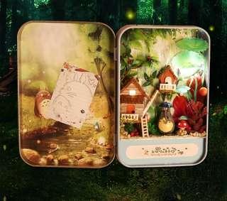 森林時光diy小屋盒子手工制作迷你小房子材料包(非成品)