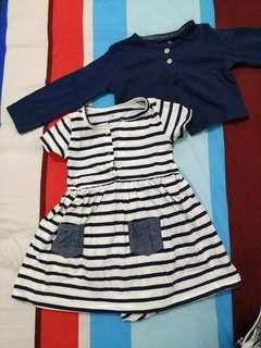 Carter's Romper dress 18m small cutting #yukjualan