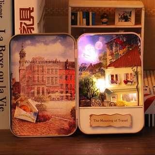 旅行的意義diy小屋盒子手工制作迷你小房子材料包(非成品)