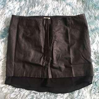 Leather skirt(repriced)