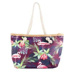 Flamingo theme beach  bags / casual bags - Small size