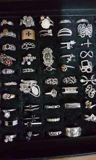 🚚 925銀飾戒子 來自四面八方 有些是是請設計師設計的 每款價格不同
