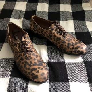 REPRICED Leopard Print Shoes