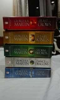GAME OF THRONES COMPLETE SET 200 each