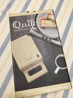 ⭐️免運費⭐️日本麗克特格子三明治機