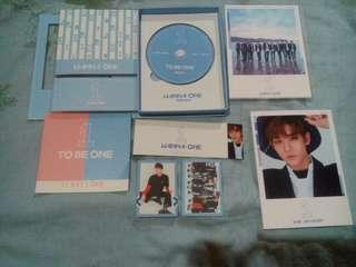 WANNA ONE TO BE ONE ALBUMS (SKY VER)