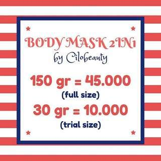 (NEW) BODYMASK 2IN1 BY CILOBEAUTY