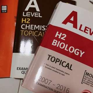 H2 chemistry & biology ten year series topical TYS