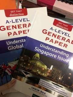 General paper alevels singapore & global issues content book by irwin see