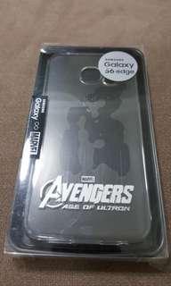 Samsung Galaxy S6 Edge Avengers Cover