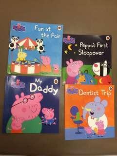 Peppa Pig 4 books
