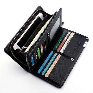 Carrouse long wallet ( black)