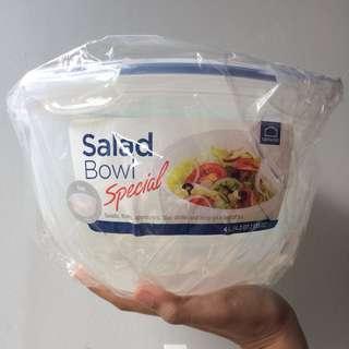 Lock n Lock Salad Bowl 4 L plain cap + bowl lock&lock murah