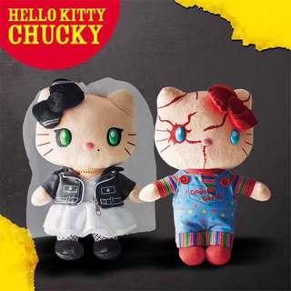 萬聖節Hello Kitty 環球影城公仔 大特價