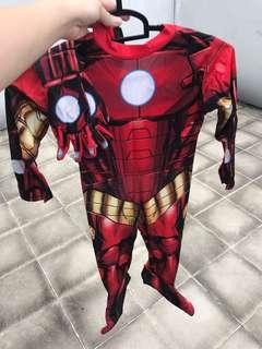 Ironman Kid custome good for 3-4yr old kid