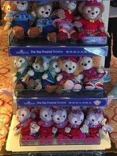 迪士尼九折代購 duffy & friends 聖誕節公仔