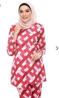 Baju Kurung Cotton Karabum