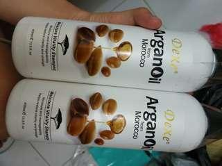 Shampoo dexe argan oil morocco