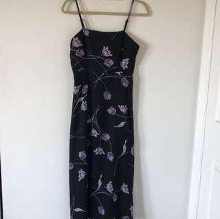 Kimchi blue urban outfitters floral maxi dress