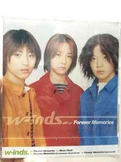 w-inds. 出道單曲 forever memories