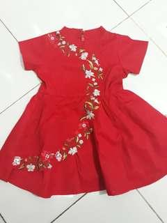 Dress chongsam bayi
