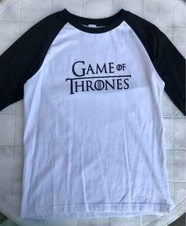 Game of Thrones 3/4 Shirt