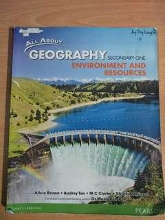 geography secondary one textbook
