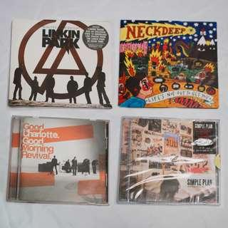 NEW/Used Pop-punk CDs