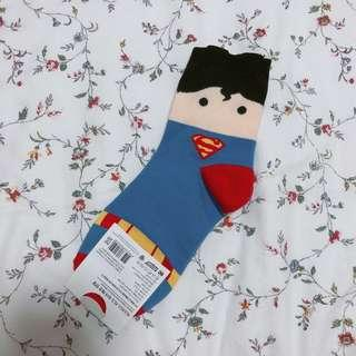 Superman korean high socks