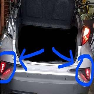 Toyota C-HR CHR 17-18 Rear Bumper Side LED ( Left and Right )