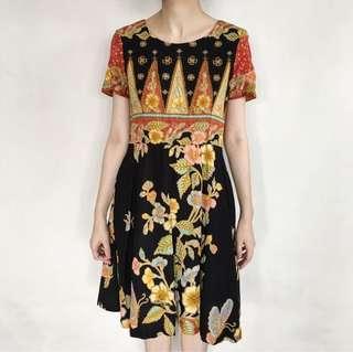 Black Songket Dress