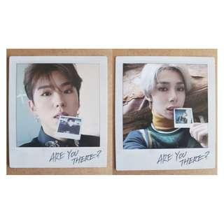 WTT/WTS Monsta X Kihyun Hyungwon official polaroid photocard