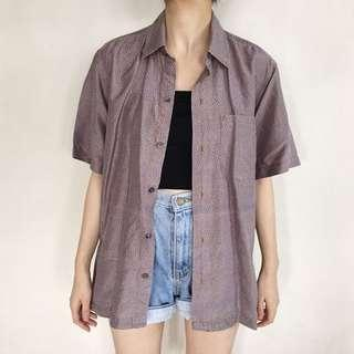 Oversized Thai Silk Shirt