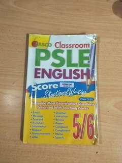 casco psle english score situational writing 5/6