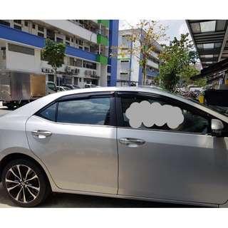 Toyota Altis 2014-2018 Door Visor