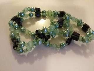 Green magnet necklace/bracelet