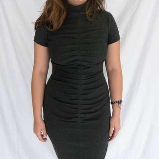 SINEQUANONE Dark Gray Dress