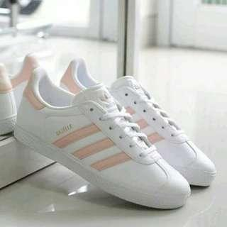 Adidas gazelle women white peace original
