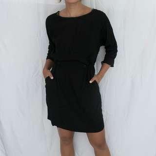 BRAND NEW ZARA Black Casual Dress