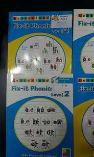 Letterland phonics book level 2