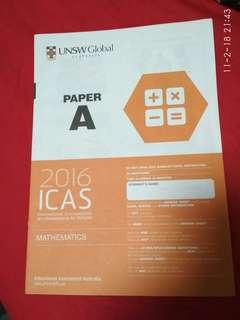 UNSW Australia test paper